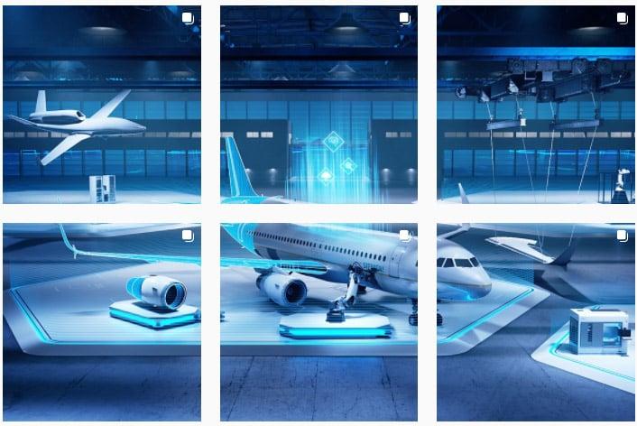 Siemens Flugzeug Technologie