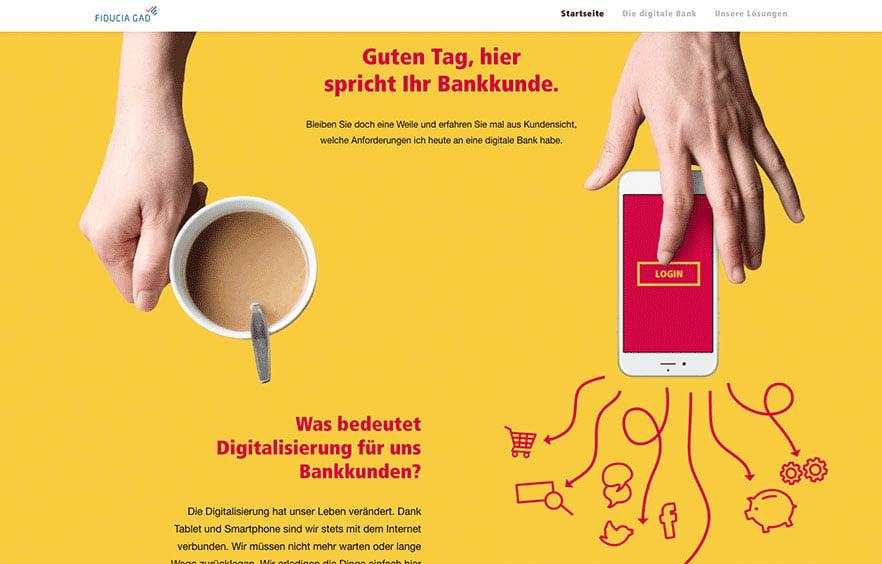 Der digitale Wegweiser für die Fiducia & GAD IT AG
