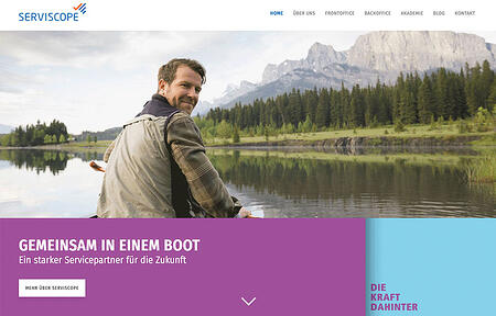 Content Marketing und Website Relaunch für SERVISCOPE