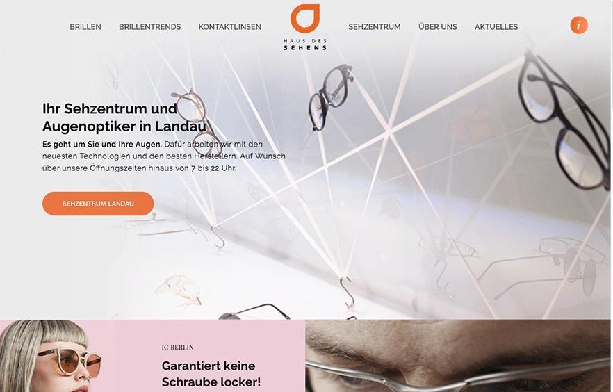 Website Relaunch für das Haus des Sehens