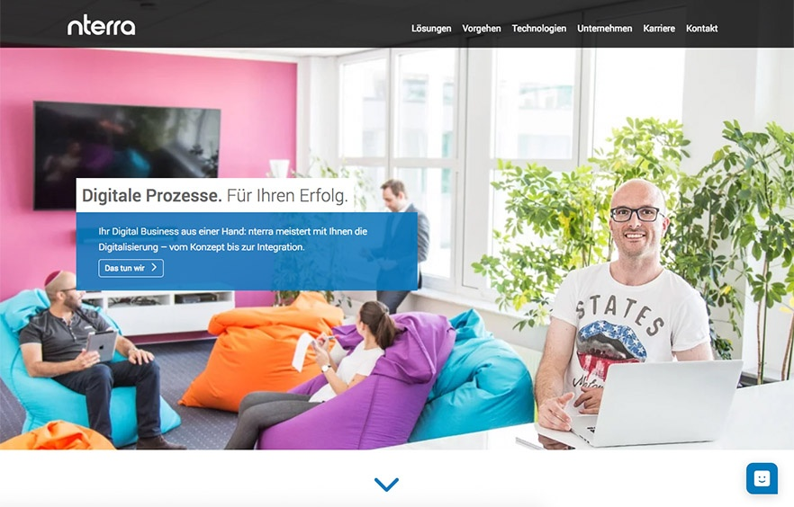 nterra GmbH: Website-Relaunch mit Mark Lotse und HubSpot