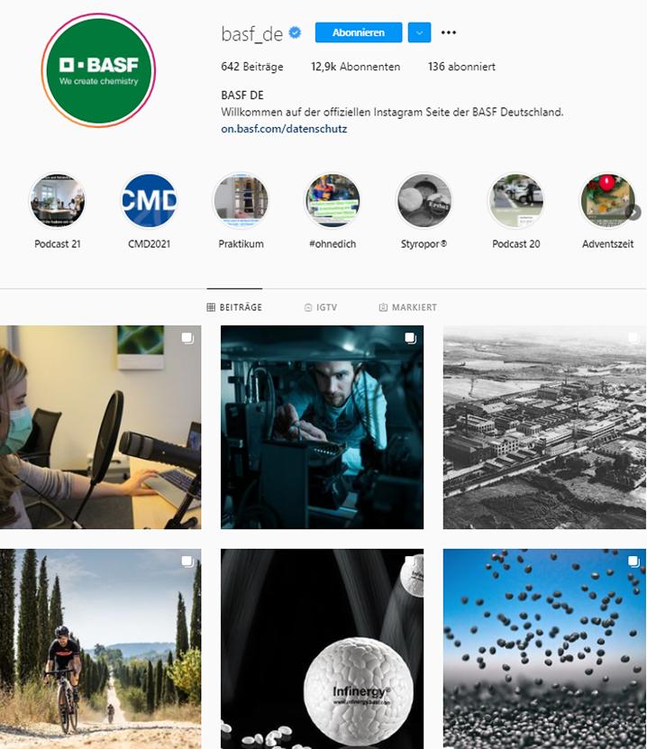 BASF Instagram Feed